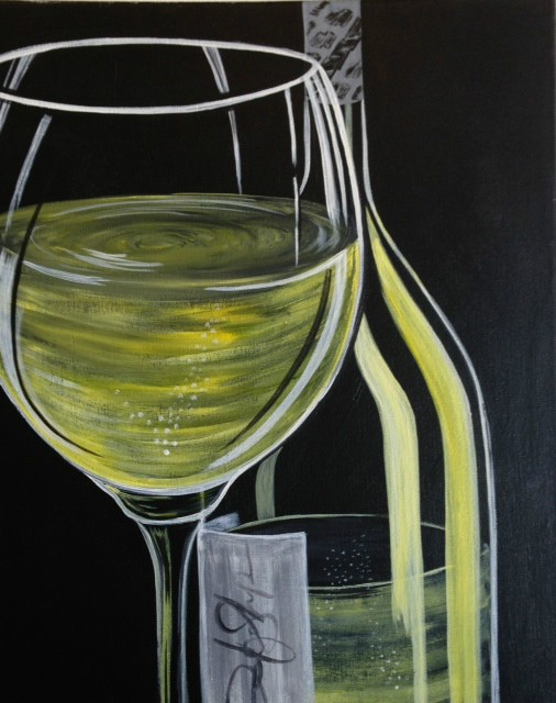 White Wine at Painted. Studios
