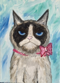 Kids Camp!  Grumpy Cat.  Includes lunch and crafts