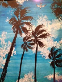Pretty Palms. You Choose Colors! Ages 7+