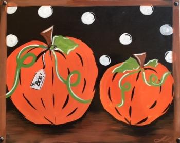 Pumpkin to My Boo. Family Fun Class!