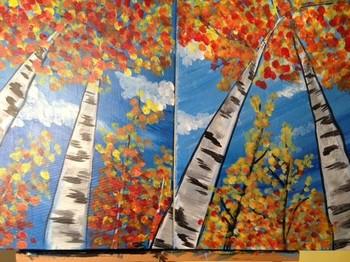 Birch Trees. Family Class!*