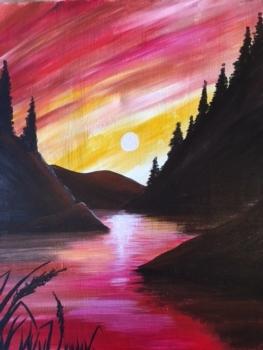 Grand Sierra. New Painting!