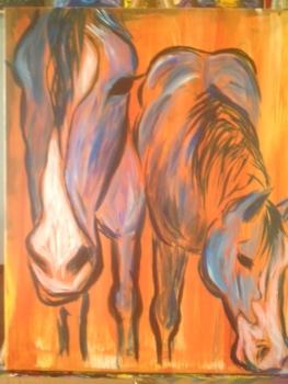 Rustic Horses