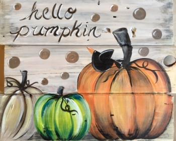 Hello Pumpkin.  Slat Wood class!*