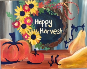 Happy Harvest.  You choose the words!