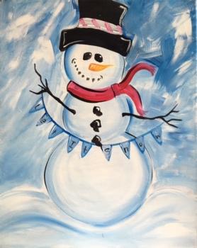 Build a Snowman! Ages 7+.