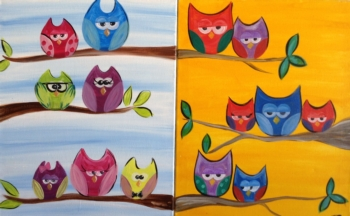 Owlt on a Limb. Ages 7+. Customize Owls!