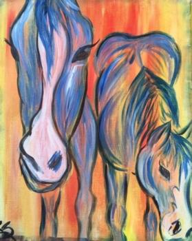 Rustic Horses.