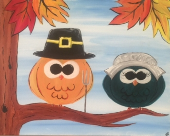 Thanksgiving Owls. Ages 7+