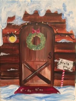 North Pole Door