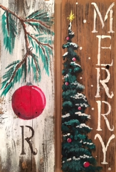 Rustic Wood Panel Class! *See Event Details