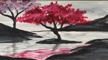 Cherry Blossom. You choose the accent color!