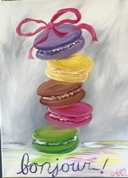 Macarons. Ages 7+
