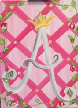 Princess Monogram. After School Class