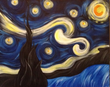 Starry Night. *Complimentary mimosa
