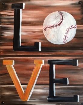 Baseball Love. You choose colors! Ages 7+
