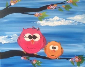 Springtime Owls. Ages 7+
