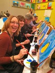 Paint and sip wine in Folsom, CA!